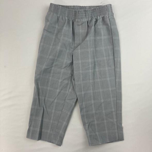 Plaid Dress Pants 2T