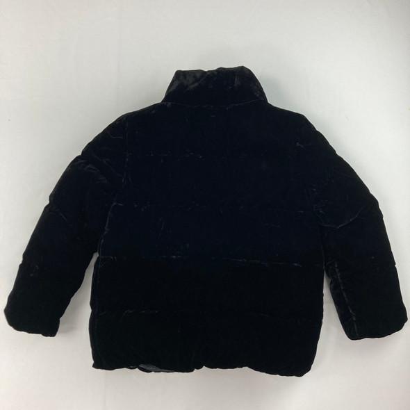 Velvet Puffer Jacket M 8-10 yr