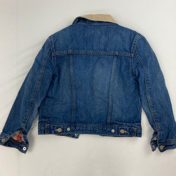 Quilted Denim Jacket 7 yr