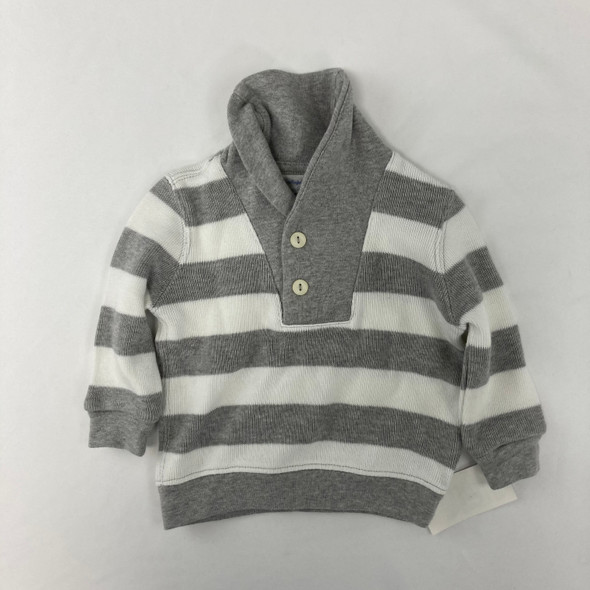 Gray Stripped Sweater 3 mth
