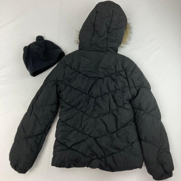 Chevron Quilt Puffer Jacket L 14-16 yr