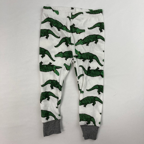 Alligator Pajama Pants 12 mth