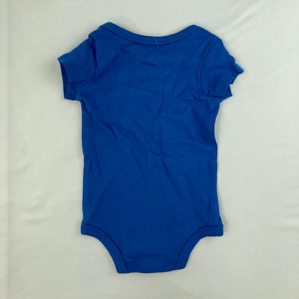 Royal Blue Onesie 0-3 mth