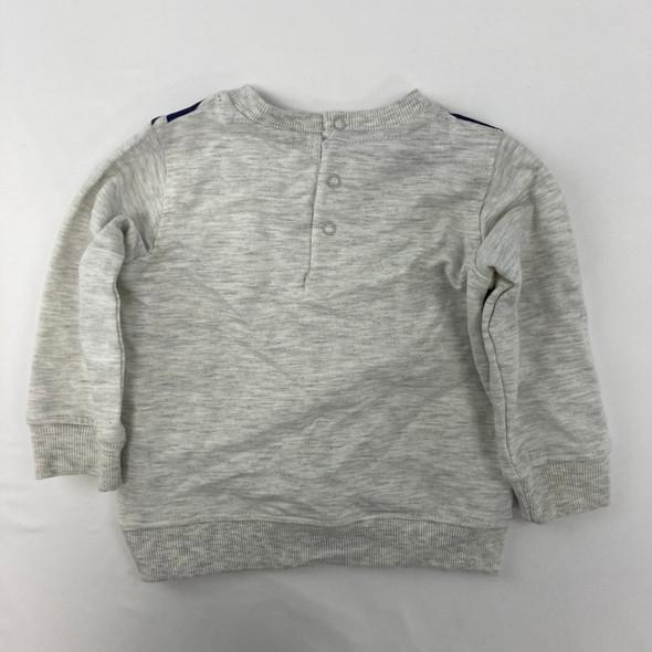 Stripped Sweatshirt 12 mth