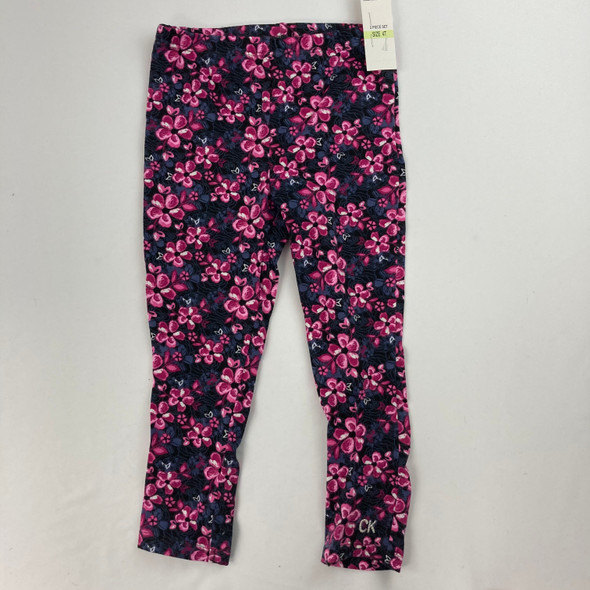 Floral CK Leggings 4T