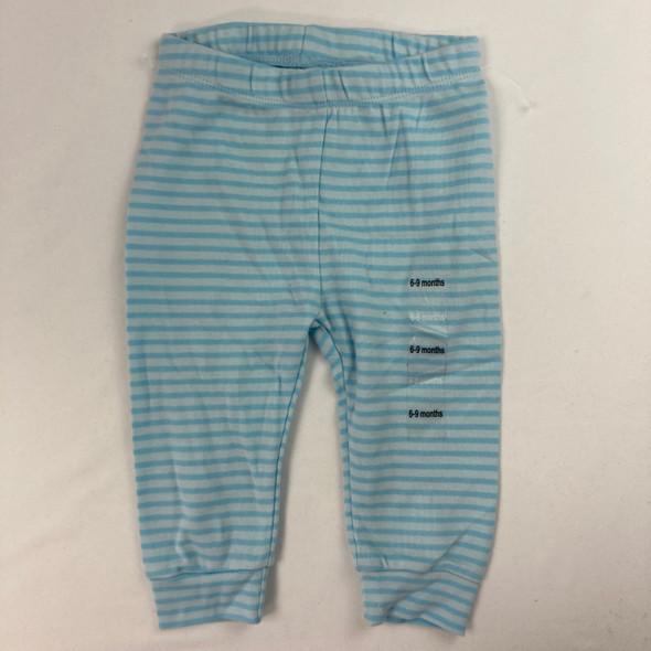 Sweet Blue Stripe Leggings 6-9 mth
