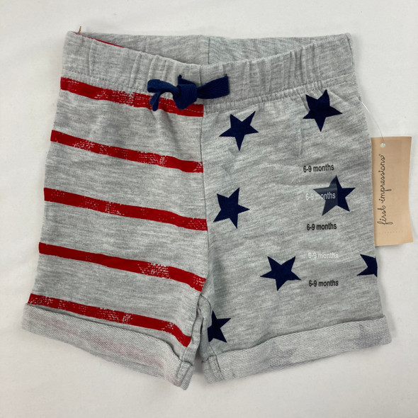 Star Stripe Shorts 6-9 mth