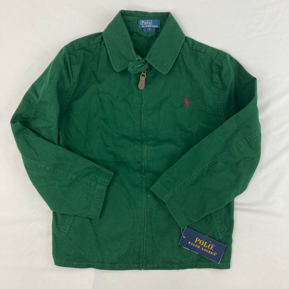 Forest Green Zip-up jacket 7 yr