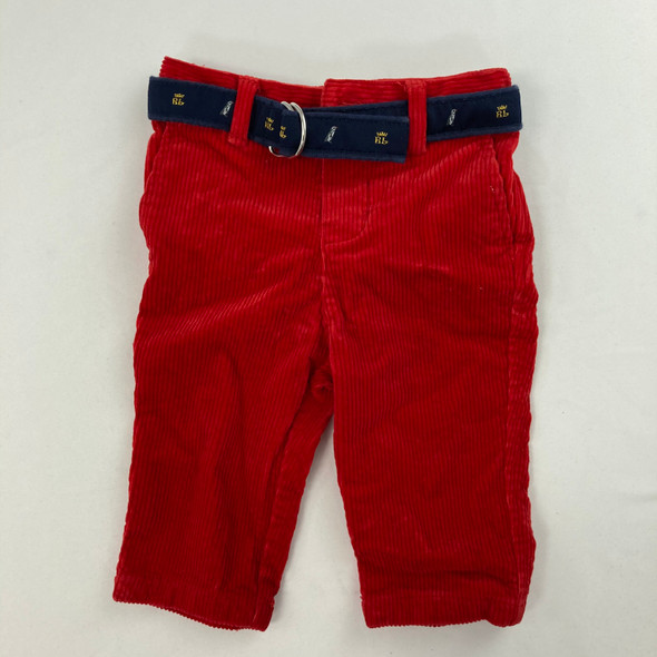 Belted Corduroy Pants 6 mth
