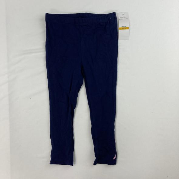 Solid Navy Leggings 3T