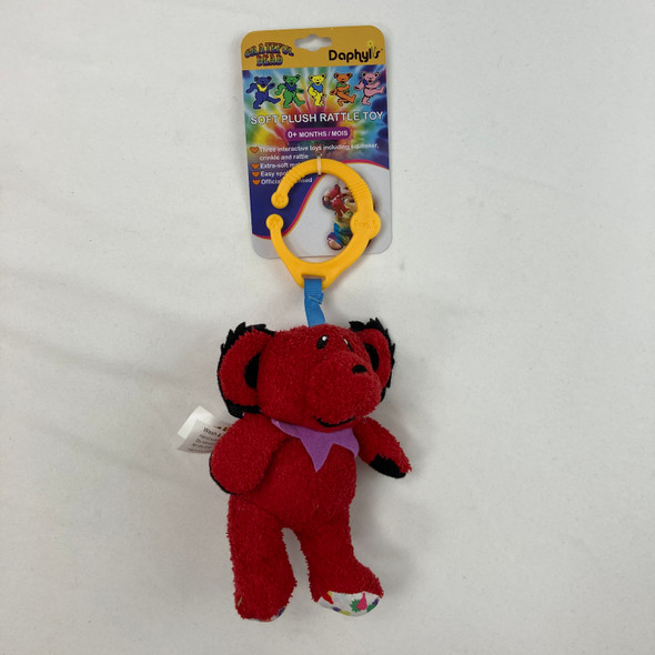Red Grateful Dead Rattle Toy
