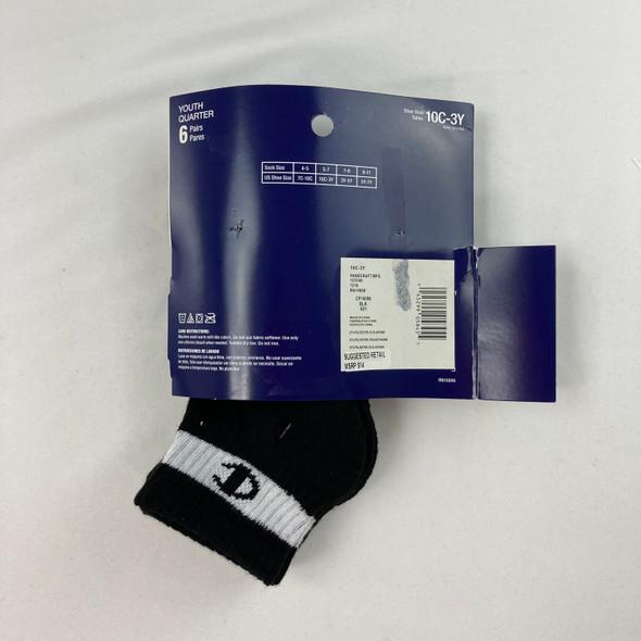 Logo Ankle Socks 3-pk 10C-3Y