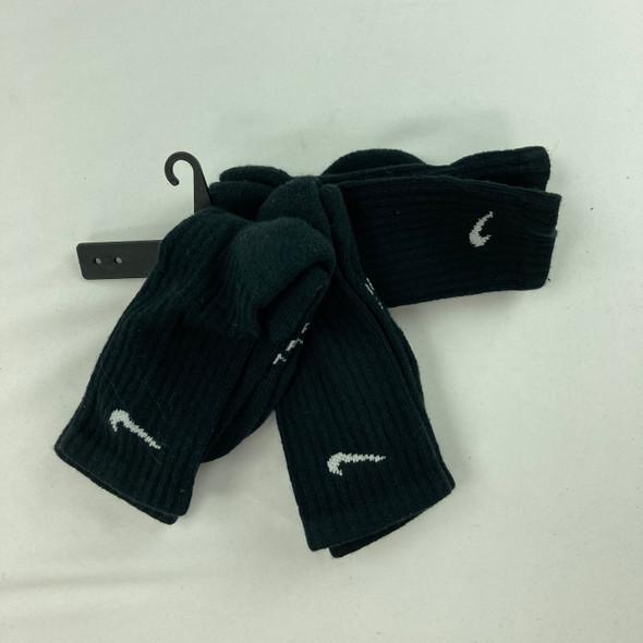 3-pk Logo Crew Socks Medium
