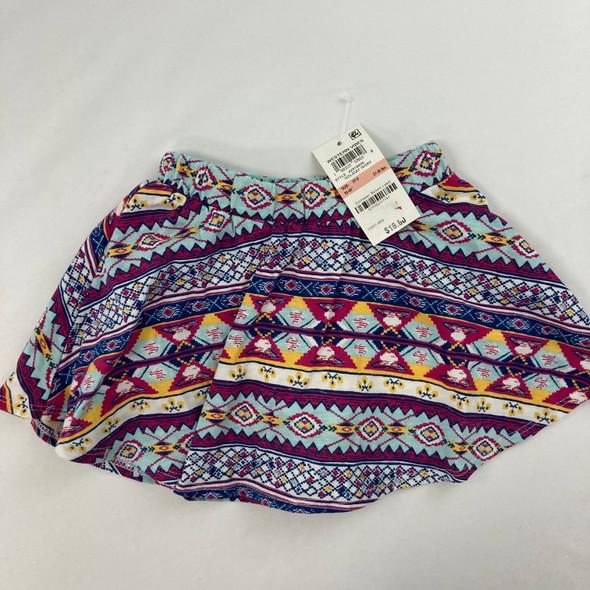 Western Tribal Skirt 2T