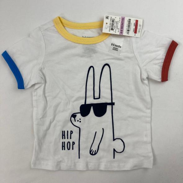 Hip Hop Bunny Tee 6-9 mth