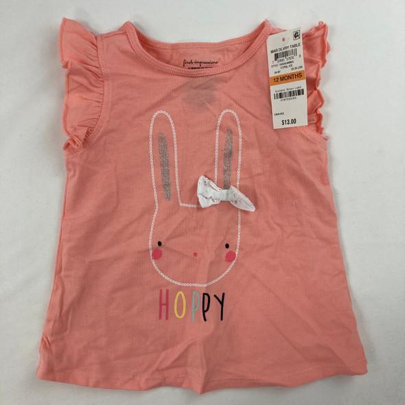Hoppy Bunny Tee 12 mth
