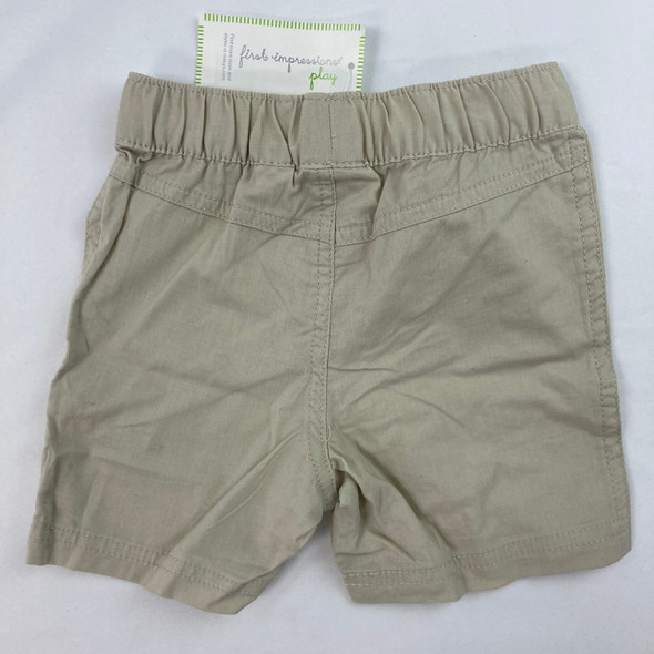 Woven Solid Shorts 12 mth