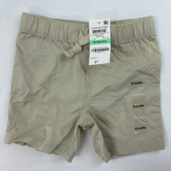Woven Solid Shorts 18 mth