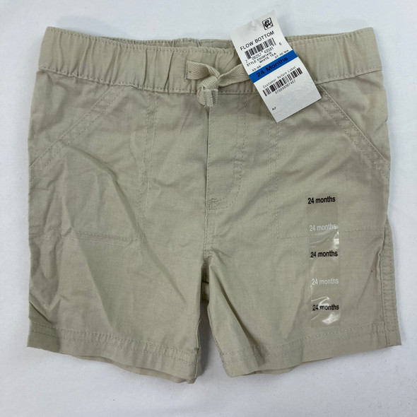 Woven Solid Shorts 24 mth