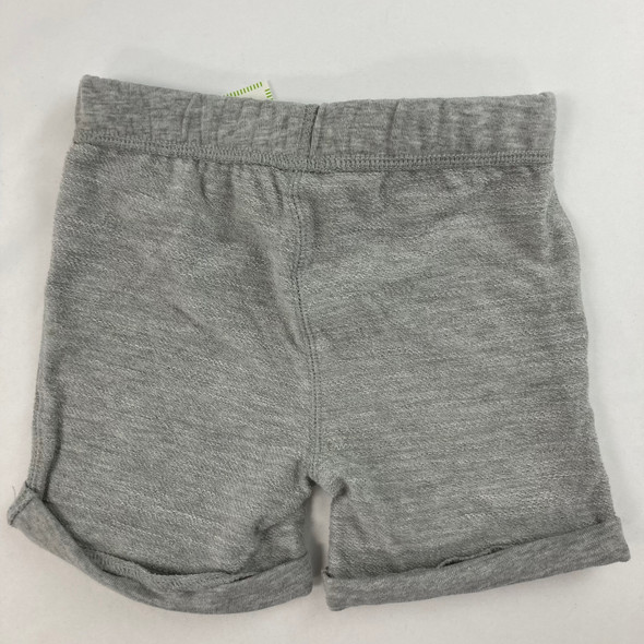 Solid Slate Heather Shorts 24 mth
