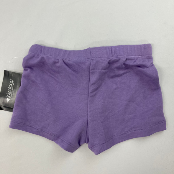 Solid Plum Shorts 3T