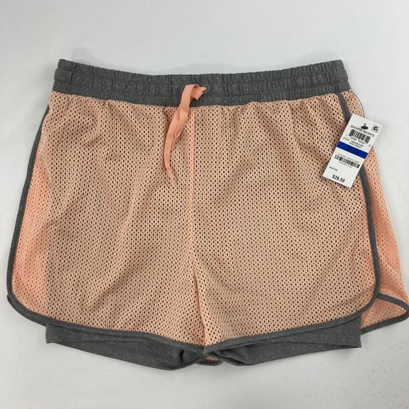 Iced Peach Mesh Shorts XL 16 yr
