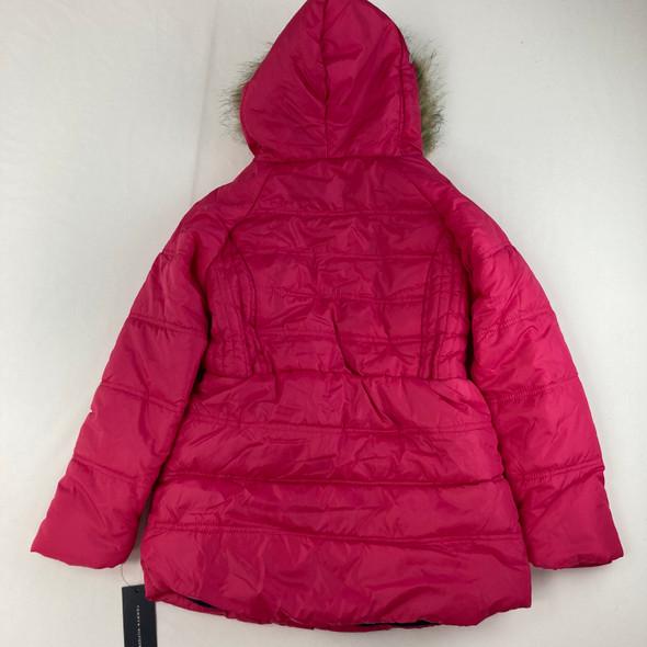 Puffer Lollipop Pink Jacket M 8/10 yr