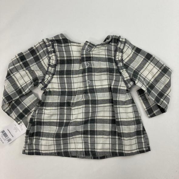 Plaid Shirt 6 mth