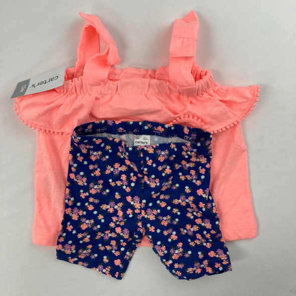 Bunched Flower 2-pc Set 12 mth