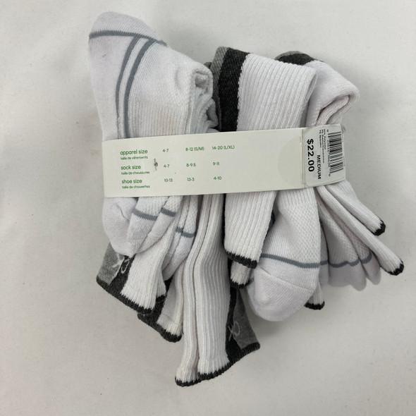 6-Pack Half Cushion Socks 8-9.5