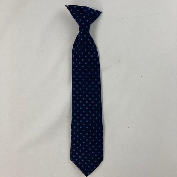 Polka Dot Clip Tie