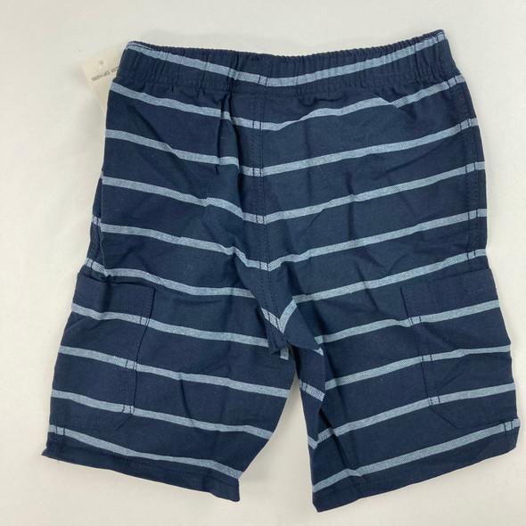 Stripe Khaki Shorts 4T