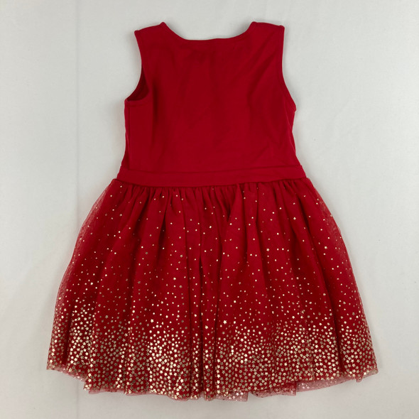 Gold Star Tulle Dress 5yr