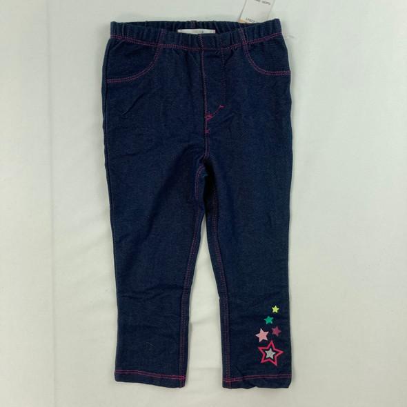 Denim Look Leggings 2T