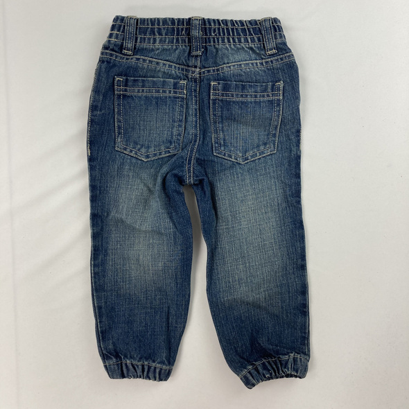 Synched Denim Pants 24 mth
