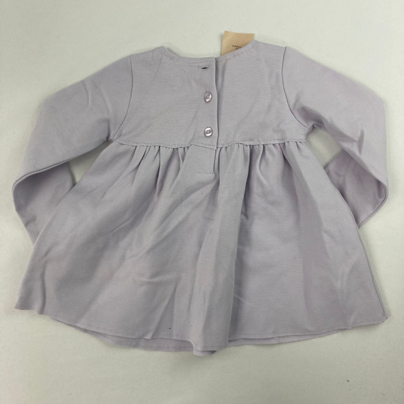 Lavender Bow Top 12 mth