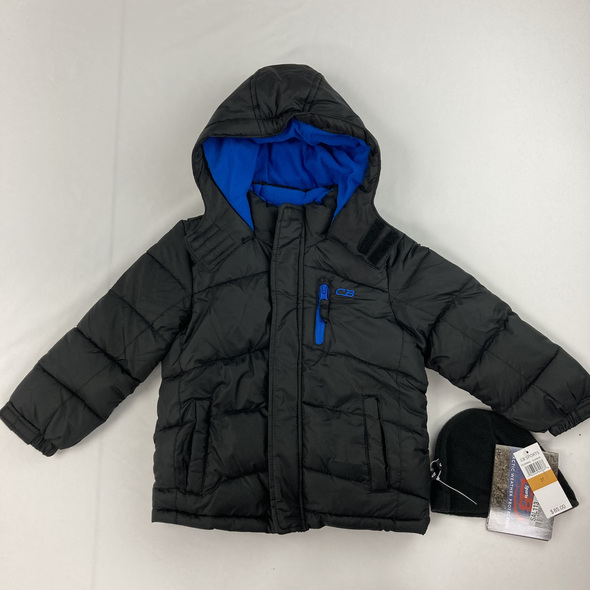 Bubble Jacket W/ Hat 3T