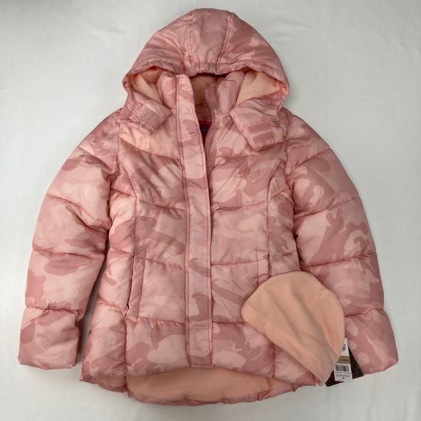 Camo Puffer Jacket M 10/12 yr