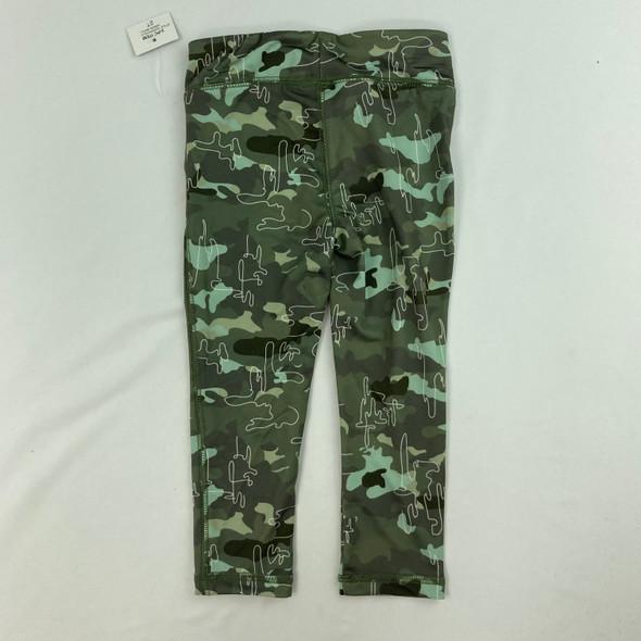 Camouflage Pattern Leggings 2T