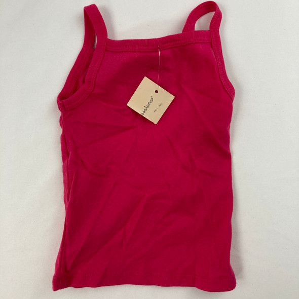 Hot Pink Tank Top 3-6 mth