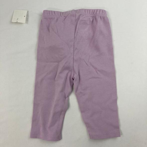 Lilac Legging 3-6 mth