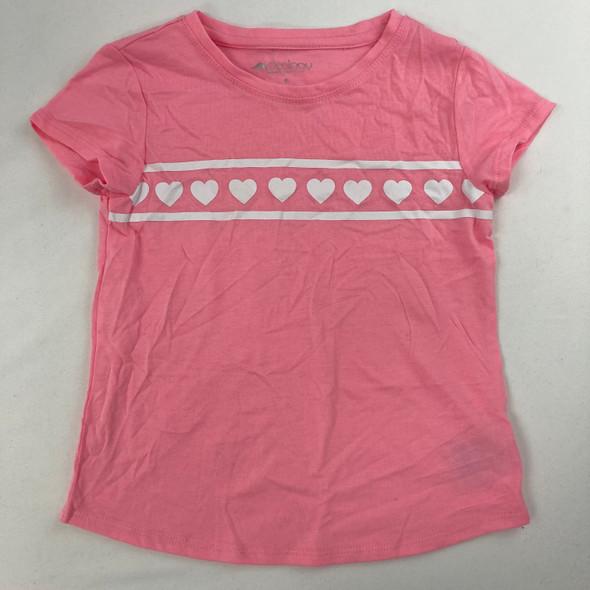 Heart Stripe Tee 6 yr