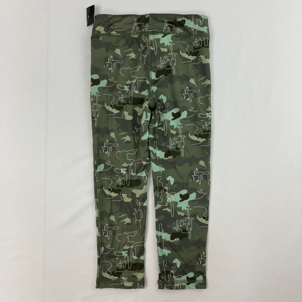 Camouflage Print Leggings 4T