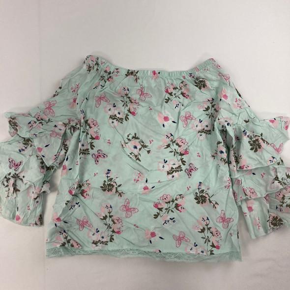 Floral Bell Top XL