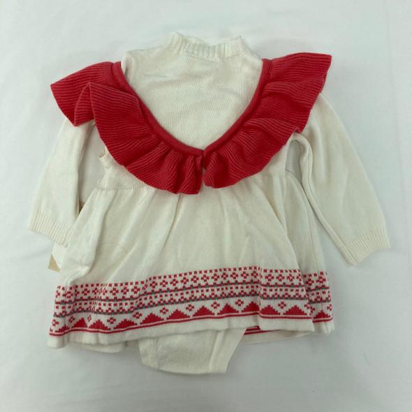 Ruffle 2-pc Dress NB