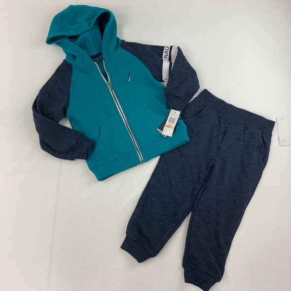 Fleece Full-Zip Sweatshirt 2-pc Set 3T