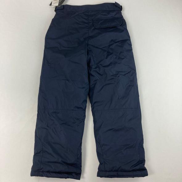 Solid Navy Ski Pants 8 yr