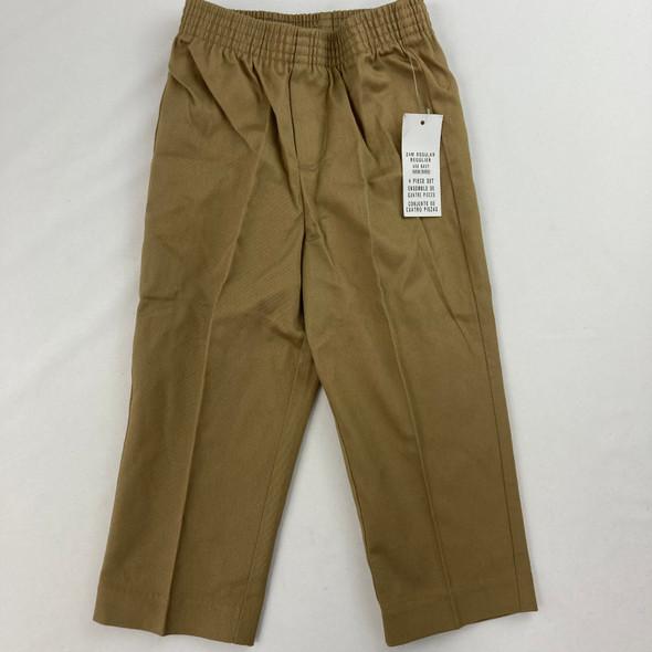 Tan Suit Pants 24 mth