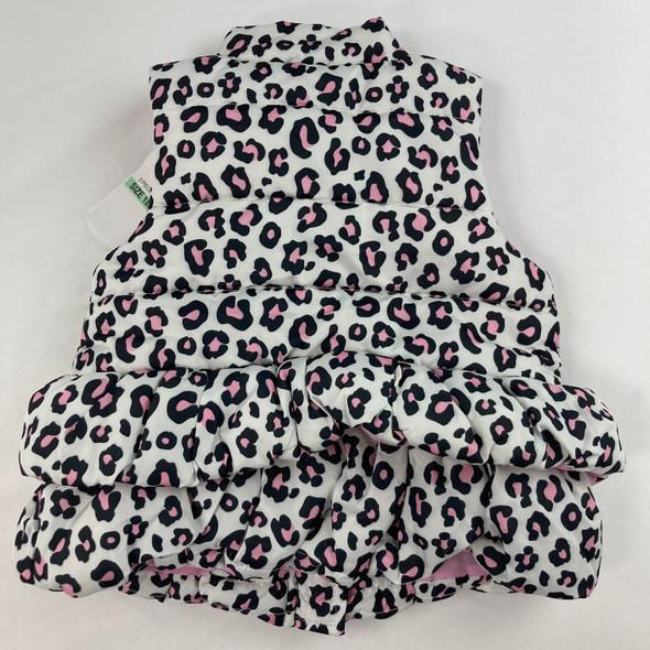 Cheetah Print Vest 18 mth
