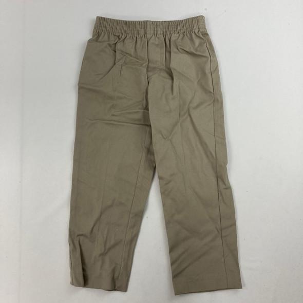 Khaki Dress Pants 4/4T